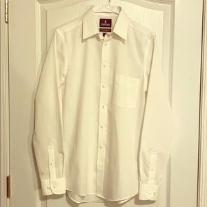 Stafford dress shirt fitted 14.5 34-35